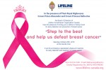 "Charity Event ""Step to the beat and help us defeat breast cancer"" on October 20th, 2018"