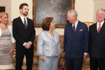 The Prince of Wales guest of Crown Prince Alexander and Crown Princess Katherine at the Royal Palace