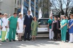 Crown Princess Katherine visited Kraljevo today and donated a car for the transport for patients treatments to Health Centre